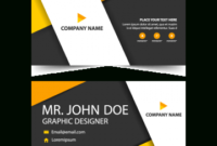 Orange Corporate Business Card Header Template Within Fresh Free Personal Business Card Templates