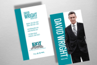Order Exit Business Cards | Free Shipping | Design regarding New Free Real Estate Agent Business Plan Template