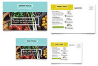 Organic Food Flyer Template – Word & Publisher with Food Business Cards Templates Free