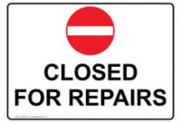 Out Of Order Sign Template – Google Search | Signs | Out intended for Best Business Closed Sign Template