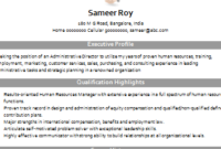 Over 10000 Cv And Resume Samples With Free Download within Recruitment Agency Business Plan Template