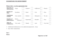Patient Feedback Form Of Hospital Pdf – Fillable Forms intended for Consent Agenda Template