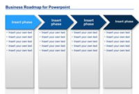 Powerpoint Business Roadmap Templates with Best Business Plan Template For Consulting Firm