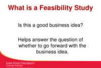 Ppt – Lecture 1 Definition Of Business Feasibility Study pertaining to Fresh Feasibility Study Template Small Business