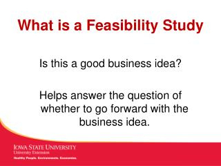 Ppt - Lecture 1 Definition Of Business Feasibility Study pertaining to Fresh Feasibility Study Template Small Business