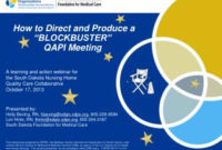 Ppt - Quality Assessment And Performance Improvement within Quality Assurance Meeting Agenda Template