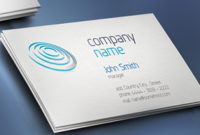 Print Ready Business Card Template Regarding Double Sided Business Card Template Illustrator