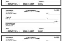 Printable Blank Checks For Students   Shop Fresh regarding Blank Business Check Template