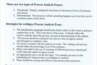 Process Analysis Essay Example | Template Business regarding Business Process Evaluation Template