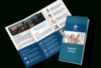 Professional Assisted Living Tri-Fold Brochure Template intended for Unique Free Tri Fold Business Brochure Templates