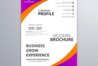 Professional Business Flyer Template Card Colorful Wave throughout Quality Professional Business Card Templates Free Download