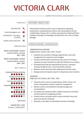 Professional Resume Templates | Free Download | Resume Genius regarding Quality Simple Business Profile Template