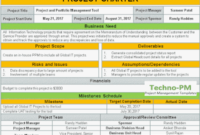 Project Charter Template Ppt Download – Project Management intended for High Level Business Plan Template