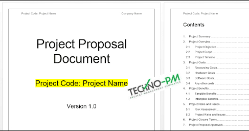 Project Proposal Template Word Template - Project within One Page Business Plan Template Word