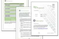 Proposal Pack Transportation #1 – Software, Templates, Samples pertaining to Business Plan Template For Trucking Company