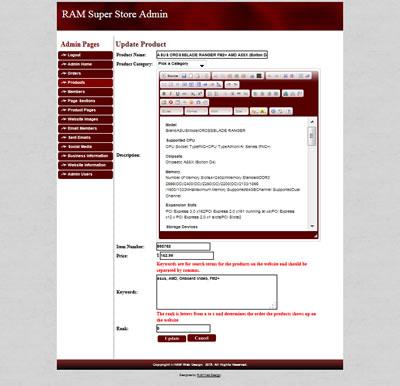 Ram Custom Website Design & Development'S Custom Website Forms for Fresh WordPress Business Directory Template