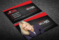 Real Estate Business Cards | Business Card Templates For within Real Estate Agent Business Plan Template