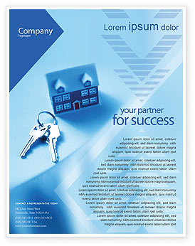 Real Estate Flyer Template, Background In Microsoft Word for Free Pub Business Plan Template