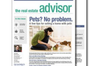 Real Estate Newsletters in Real Estate Listing Presentation Template