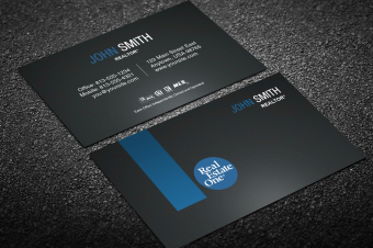Real Estate One Business Card Templates | Designed For within Real Estate Business Cards Templates Free