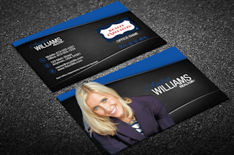 Realty Executives Business Card Templates   Designed For throughout Real Estate Agent Business Card Template