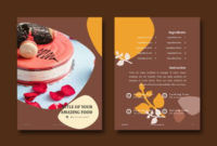 Recipe Cake Bakery Ebook Powerpoint Template Within Quality Cake Business Cards Templates Free