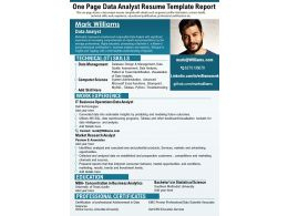 Recruitment Report - Slide Team intended for Fresh Business Analyst Report Template