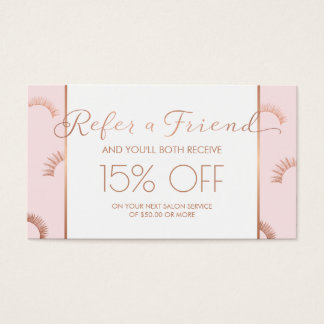 Referral Business Cards & Templates | Zazzle with regard to Hair Salon Business Card Template