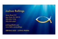 Religious Business Cards & Templates   Zazzle inside Fresh Christian Business Cards Templates Free