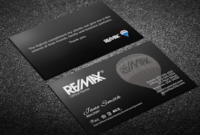 Remax Business Cards | Free Shipping | Designs, Templates with Transport Business Cards Templates Free