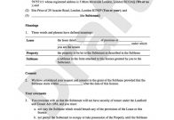Rental Agreement Forms | Template Business intended for Best New Hire Business Case Template
