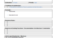 Requirements Archives – Agile Ux | Agile Ux in Fresh Business Requirement Specification Document Template