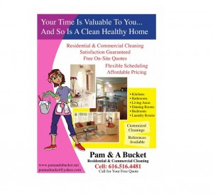 Residential & House Cleaning Business Flyer Examples for Best Flyers For Cleaning Business Templates