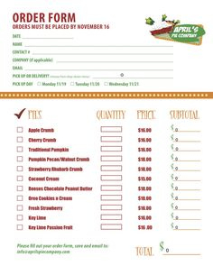 Restaurants And Waiters Can Use This Printable Order Pad throughout Cake Business Plan Template