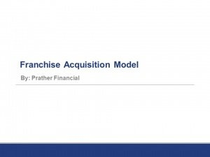 Retail Financial Model Excel Templates - Instant Downloads with regard to New Franchise Business Model Template
