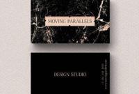 Rose Gold White Black Marble Glitter Foil Business Card for Fresh Black And White Business Cards Templates Free