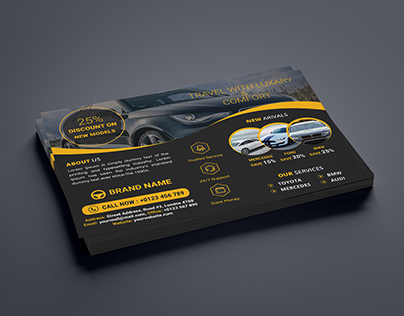 Round Shaped Personal Business Card On Behance with Automotive Business Card Templates