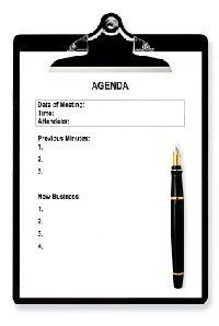 Run Effective Meetings, Leave Nothing To Chance If You Intended For Business Strategy Meeting Agenda Template
