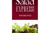 Salad Bar Business Cards & Templates   Zazzle inside Restaurant Business Cards Templates Free