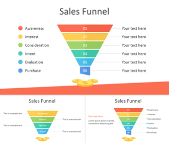 Sales Funnel Powerpoint Template - Templateswise within Unique Music Business Plan Template Free Download