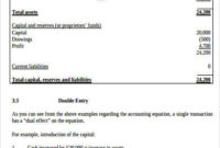 Sample Accounting Balance Sheet – 7+ Examples In Word, Pdf in New Business Balance Sheet Template Excel