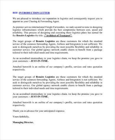 Sample Business Introduction Letter - 14+ Free Documents in How To Write Business Profile Template