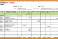 Sample Expense Report | Charlotte Clergy Coalition with Small Business Expense Sheet Templates