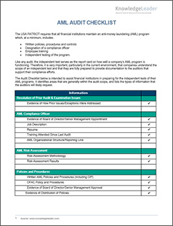 Sample Internal Audit Checklists And Questionnaires with Business Process Audit Template