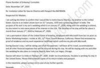 Sample Invitation Letter For Tourist Visa For Brother pertaining to Australian Business Letter Template