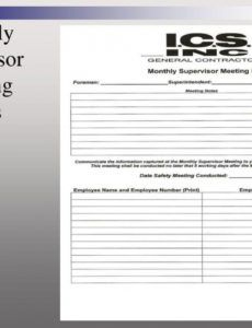 Sample Ppt Best Practices 1 Front Line Supervisor Training pertaining to Foreman Meeting Agenda Template
