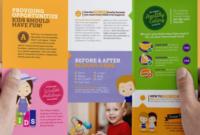 Sample Theme – 18+ Sample Daycare Brochure Templates inside Daycare Center Business Plan Template