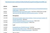 Sample Training Agenda - 9+ Examples In Pdf, Word intended for Program Agenda Template