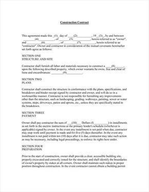 Sample+Painting+Contract+Agreement+Work | Need This Form for Best Business Management Contract Template