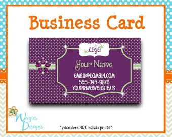Scentsy Cards - Etsy intended for Advocare Business Card Template